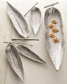 """Bamboo"" Leaf dishes"