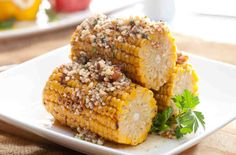 Kukurydza z masłem orzechowym