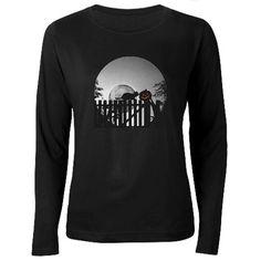 Pumpkin, Cats, Mo Women's Long Sleeve Dark T-Shirt