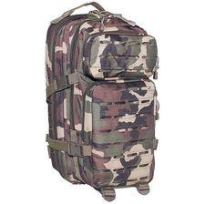 MFH US Rucksack, Assault I, Laser, woodland / mehr Infos auf: www.Guntia-Militaria-Shop.de