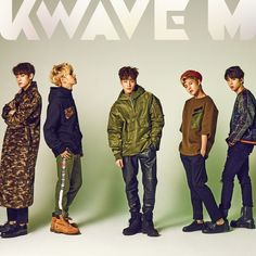 IMFACT pose freely for 'KWAVE M' | allkpop.com
