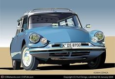 Newest - Your spot for viewing some of the best pieces on DeviantArt. Citroen Ds, Manx, Automobile, Shooting Brake, Bugatti, Peugeot, Cars And Motorcycles, Vintage Cars, Cool Cars
