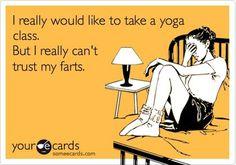 I really would like to take a yoga class -