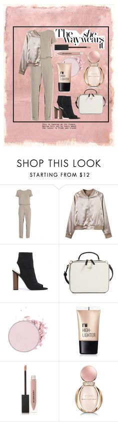 """""""Untitled #232"""" by alejomarianne on Polyvore featuring Rothko, P.A.R.O.S.H., WithChic, Public Desire, Kate Spade, Charlotte Russe, Burberry and Bulgari"""