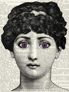 violet original Cavalieri design face engraving on by FauxKiss Piero Fornasetti, Printables, The Originals, Trending Outfits, Movie Posters, Vintage, Design, Decor, Illustrations