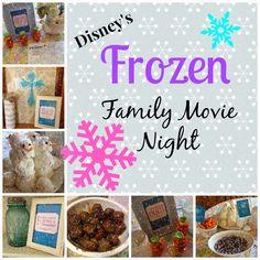 {365} Challenge: Frozen Movie Night