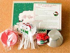 Natal 2013 com kits cheios de carinho! Kit Cupcake de Natal Tuty - Arte & Mimos Entre em contato com a gente! www.tuty.com.br #festa #personalizada #party #tuty #Happy #love #Cute #Xmas #christmas #happy