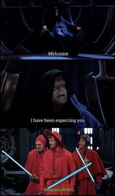 Simbolos Star Wars, Star Wars Humor, Dark Humour Memes, Dankest Memes, Republic Commando, Spanish Inquisition, Monty Python, Clone Wars, Funny Comics