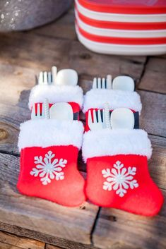Christmas Christmas/Holiday Party Ideas | Cutlery Packs