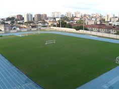 """Campo de Futebol anexo do """"Engenhão"""". """"Estádio Olímpico João Havelange"""". # Rio de Janeiro, Brasil."""