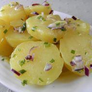 + 8 Lehký bramborový salát s pažitkou recept - Vareni.cz Czech Recipes, Ethnic Recipes, Cantaloupe, Potato Salad, Potatoes, Food And Drink, Fruit, Fitness, Diets