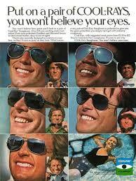 9a9601e065a2 Items similar to 1976 Advertisement Cool-Rays Sun Glasses Men Hot Handsome  Sunglasses Optician Optometrist Wall Art Decor on Etsy