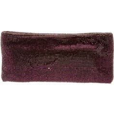Pre-owned Christian Louboutin Maykimay Strass Clutch ($785) ❤ liked on Polyvore featuring bags, handbags, clutches, purple, christian louboutin, purple handbags, crystal handbag, handbags purses and pre owned purses