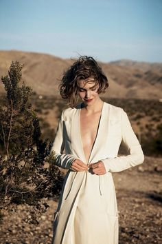 Arizona Muse by Peter Lindbergh for Vogue