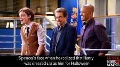 Reid makes me really happy I love criminal minds altogether but Reid is my favorite