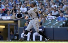 Gregory Polanco Photos - Gregory Polanco of the Pittsburgh Pirates hits a home run in the third inning against the Milwaukee Brewers at Miller Park on July 2016 in Milwaukee, Wisconsin. - Pittsburgh Pirates v Milwaukee Brewers Milwaukee Wisconsin, Milwaukee Brewers, Pnc Park, July 31, Pittsburgh Pirates, Third, Running, Baseball Cards, People