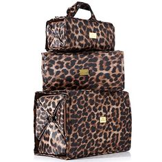 Joy Mangano Biggest & Best Better Beauty Case Set Ever!  I love this for traveling, it holds tons of stuff and keeps it neat.