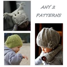 I bought all 3 patterns!  can't wait to make them.