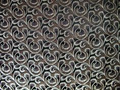 $10 Gold Swirls on Black Velvet 1 Yard SM150 by Sewmanatee on Etsy