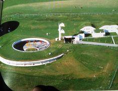 EFA, Radio Satellite Station, Gustav Peichl, Aflenz, Austria