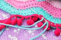 Helen Philipps: Ripples and Roses love this Pom Pom idea