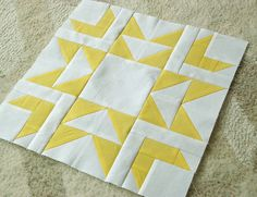 beck&lundy: WIP - Yellow Star Block