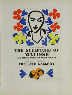Description: Created in 1953 for the Tate Gallery's exposition by Henri Matisse titled, The Sculpture of Matisse: and three paintings with studies. Signed and dated.