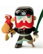 Pirate Figure - Sam Parrot from Djeco For Only £6.95