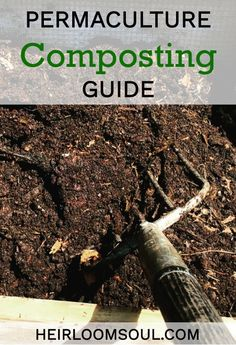 6 Steps to a Biodiverse Compost Pile - Permaculture Composting Guide | Heirloom Soul | heirloomsoul.com