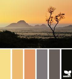 Such a warm and cozy colour palette :) Colour Pallette, Color Palate, Colour Schemes, Color Combos, Color Patterns, Color Concept, Orange Design, Design Seeds, World Of Color