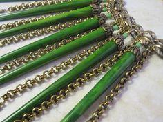 Statement Piece Assemblage Fringe Necklace of by BakeliteandBijoux, $265.00