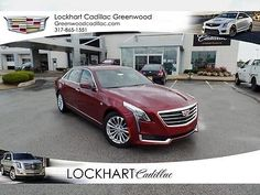 2017 Cadillac Other 2.0L Turbo Luxury 2017 Cadillac CT6 2.0L Turbo Luxury 89 Miles Red 4D Sedan  2.0L Turbocharged 8-S