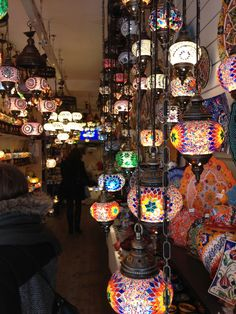 Moroccan lamps. Camden market london. If I can get videos of unique things like this, I want to include them in my video