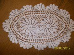 Handmade Vintage Crochet Doily