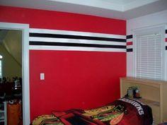 Chicago Blackhawks Bedroom Decor. Http Www Houzz Com Photos ...