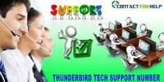 Get Thunderbird Tech Support for All Email Issues