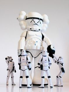 KAWS storm trooper
