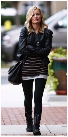 Emily's Winter Style : Emily Maynard  IronicAnarchy: this is more like my real style, something i'd actually wear xD