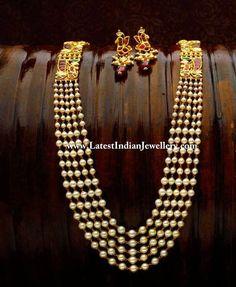 Heritage Pearls Kundan Mala