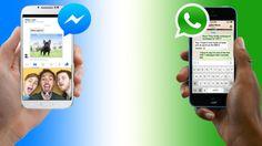WhatsApp o Facebook Messenger: Comparamos ambas plataformas