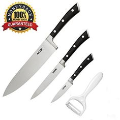 Aicok-Kitchen-Knife-Set-4-Pieces-German-High-Carbon-Stainless-Steel-8-inch-Chef-Knife-and-Carving-Knife-5-inch-Utility-Knife-35-inch-Paring-Knife-and-6-inch-Peeler