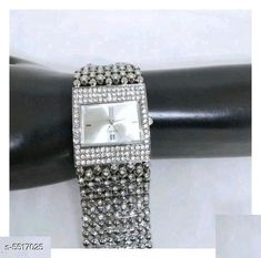 Watches Sana Beautiful Stainless Steel Women's Watch Strap Material: Stainless Steel Display Type: Analogue Size: Free Size Multipack: 1 Country of Origin: India Sizes Available: Free Size   Catalog Rating: ★4.2 (474)  Catalog Name: Classic Women Watches CatalogID_823900 C72-SC1087 Code: 752-5517025-945