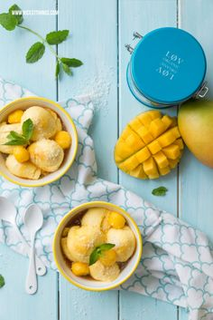 Nicest Things - Food, Interior, DIY: Mangomousse mit Eisteesirup aus Løv Organic Früchtetee