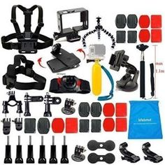 3.The Best Accessories Kit for GoPro Hero 4 Reviews