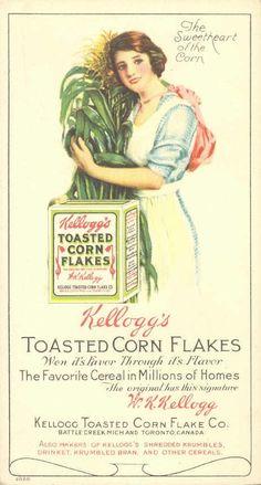 Kellogs Corn Flakes Blotter