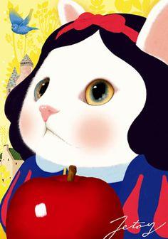 Snow White Kitty