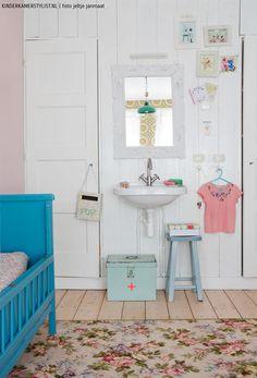 Landelijke meisjeskamer | Foto Jeltje Janmaat voor Kinderkamerstylist.nl