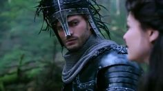 Once Upon a Time: Jamie Dornan as the Huntsman, Ginnifer Goodwin as Snow White