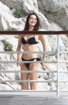 Pin for Later: Bella Hadid Flaunts Her Bikini Body While Relaxing Poolside in the South of France