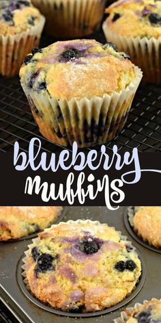 Factors You Need To Give Thought To When Selecting A Saucepan Packed With Wild Blueberries And Covered With A Sprinkling Of Sugar, These Blueberry Muffins Are Even Better Than The Ones You Love From Your Neighborhood Bakery. Delicious Cake Recipes, Yummy Cakes, Dessert Recipes, Breakfast Recipes, Amazing Recipes, Breakfast Ideas, Appetizer Recipes, Yummy Food, Pastry Recipes
